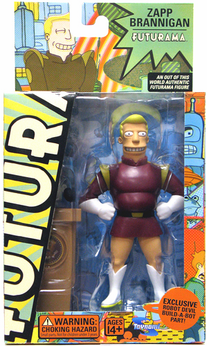 Futurama Series 2 Zapp Brannigan Action Figure