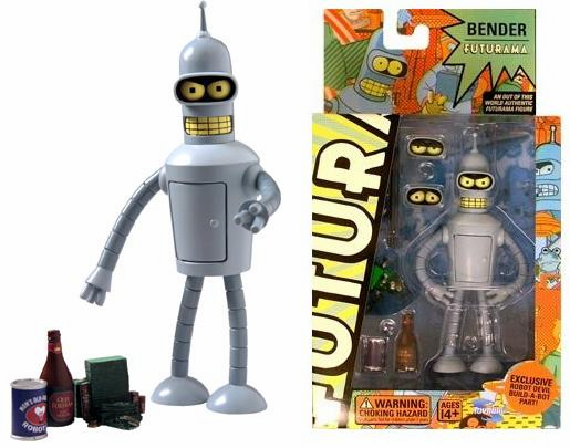 Futurama Series 3 Bender Action Figure