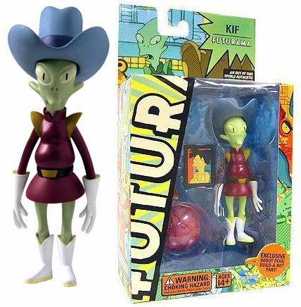 Futurama Series 3 Kif Kroker Action Figure