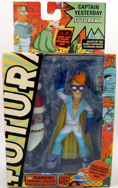 Futurama Series 4 Captain Yesterday Action Figure