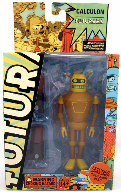 Futurama Series 5 Calculon Action Figure