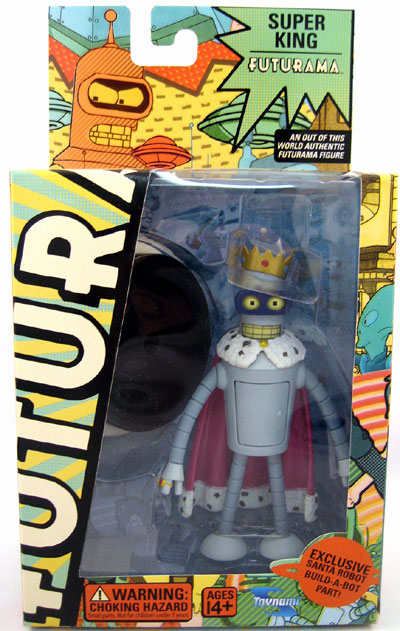 Futurama Series 5 Super King Bender Action Figure