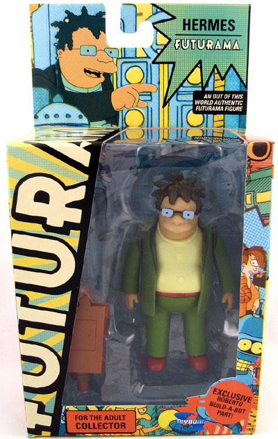 Futurama Series 7 Hermes Action Figure