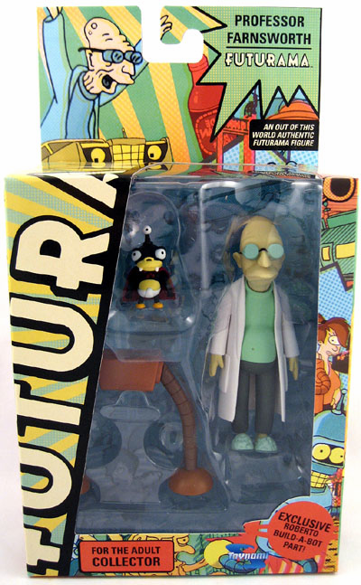 Futurama Series 7 Professor Farnsworth and Nibbler Action Figure