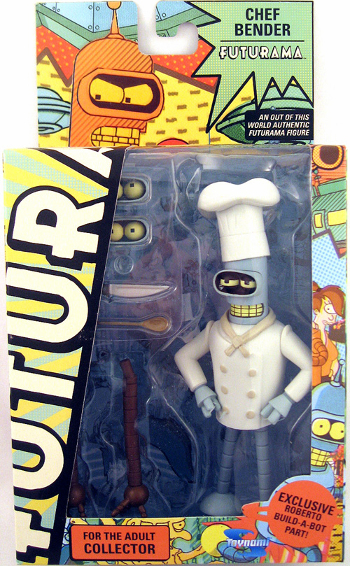 Futurama Series 8 Chef Bender Action Figure