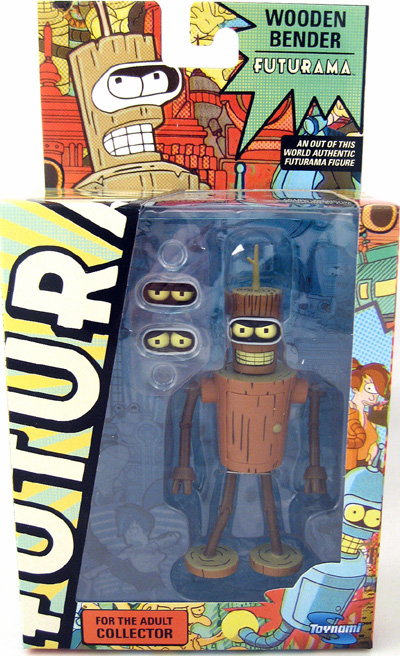 Futurama Series 9 Wooden Bender Action Figure
