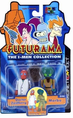 Futurama The I-Men Collection Doctor Zoidberg and Morbo Figure Set