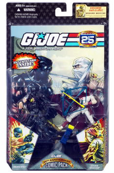 G.I. Joe 25th Anniversary Battle-Torn Snake Eyes & Storm Shadow Set