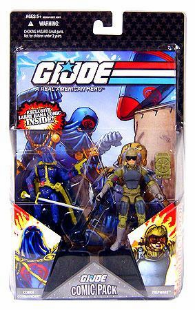 G.I. Joe 25th Anniversary Cobra Commander & Tripwire Comic Pack