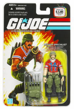 G.I. Joe 25th Anniversary Sgt. Bazooka Figure