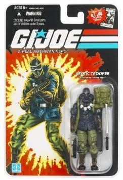 G.I. Joe 25th Anniversary Snake Eyes Arctic Trooper Figure