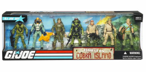 G.I. Joe Assault on Cobra Island Box Set
