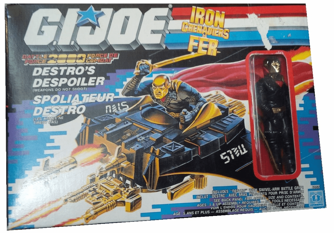 G.I. Joe Battle Force 2000 Iron Grenadiers Destro's Despoiler Vehicle
