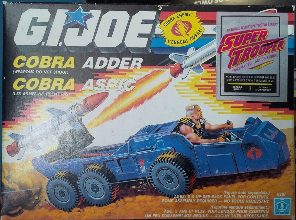 G.I. Joe Cobra Adder Vehicle