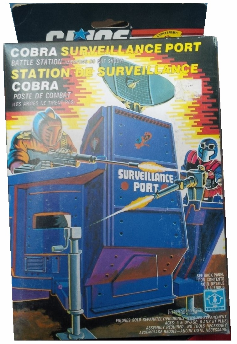 G.I. Joe Cobra Surveillance Port Battle Station