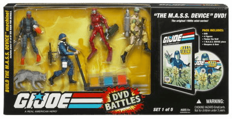 G.I. Joe MASS Device 25th Anniversary Entertainment Battle Pack Set 1