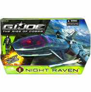 G.I. Joe Movie The Rise Of Cobra Night Raven Vehicle