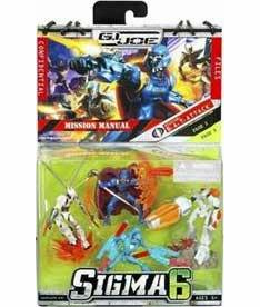 G.I.Joe Sigma 6 B.A.T. Pack Mini Figure Set