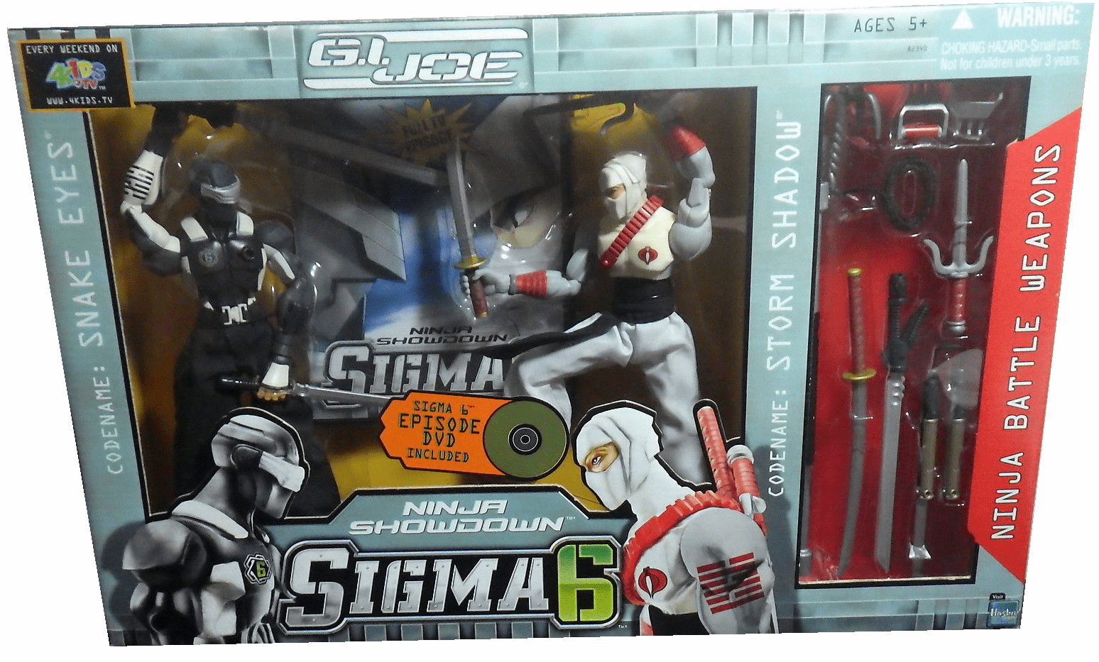 G.I. Joe Sigma 6 Ninja Showdown Figure Set