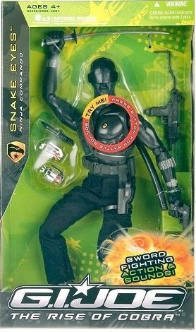G.I. Joe The Rise of Cobra Snake Eyes Action Figure