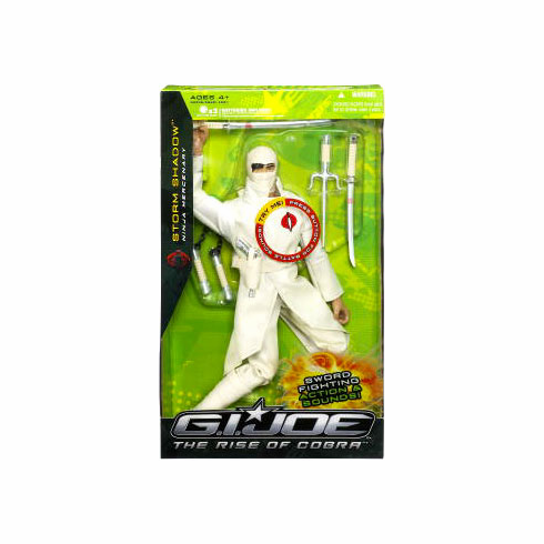G.I. Joe The Rise of Cobra Storm Shadow Action Figure