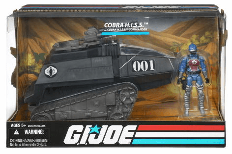 G.I. Joe Wave 1 Cobra H.I.S.S. Tank Vehicle