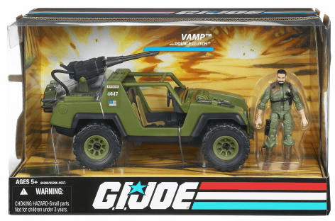 G.I. Joe Wave 1 VAMP with Double Clutch Vehicle