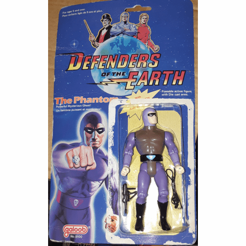Galoob Defenders of the Earth The Phantom Figure