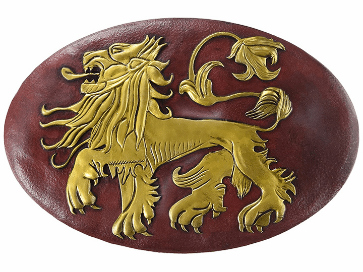 Game of Thrones House Lannister Shield Wall Plaque