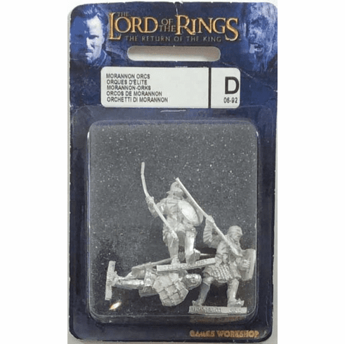GW Lord of the Rings Return of the King Morannon Orcs Miniatures