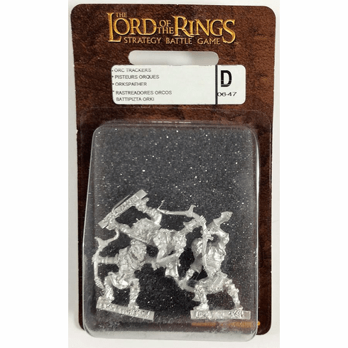 Games Workshop Lord of the Rings Two Towers Orc Trackers Miniatures