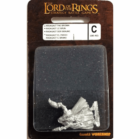 Games Workshop Lord of the Rings Two Towers Radagast The Brown Miniature