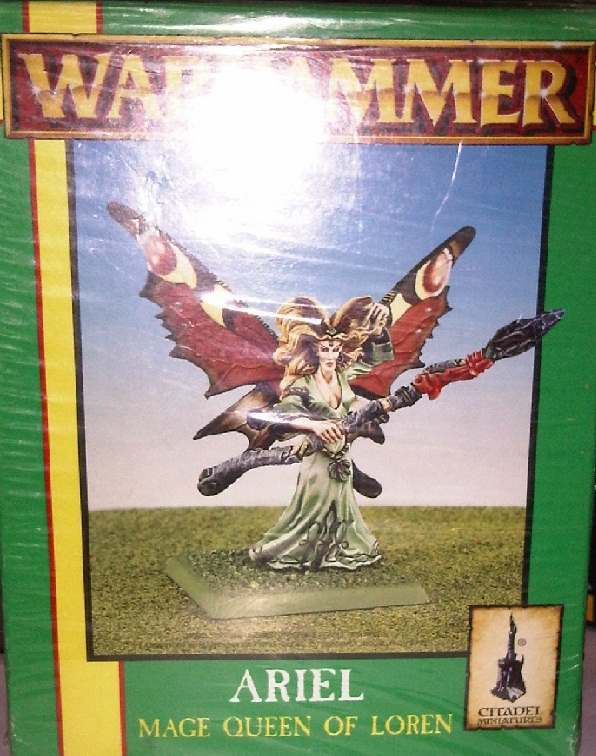 Games Workshop Warhammer Ariel Mage Queen of Loren Miniature