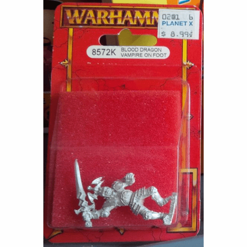 Games Workshop Warhammer Blood Dragon Vampire on Foot Miniature