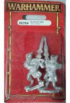 Games Workshop Warhammer Bloodletters of Khorne Miniature