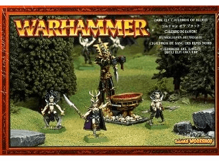 Games Workshop Warhammer Dark Elf Cauldron of Blood Miniature Set