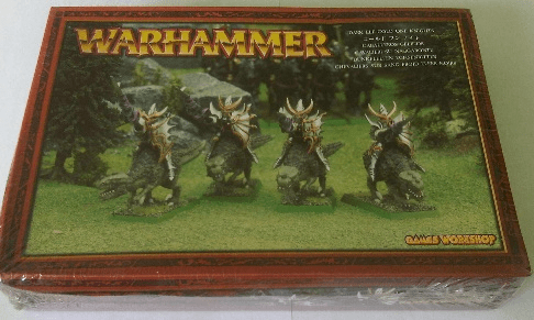 Games Workshop Warhammer Dark Elf Cold One Knights Miniatures