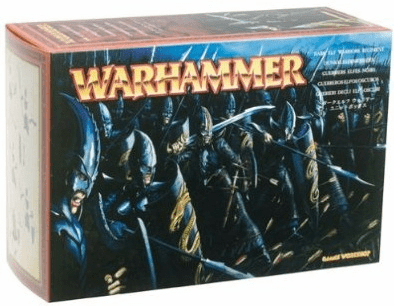 Games Workshop Warhammer Dark Elf Warriors Regiment Miniature Set