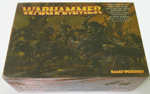 Games Workshop Warhammer Goblin Wolf Riders Miniature Set
