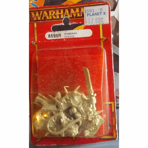 Games Workshop Warhammer Khazarak One-Eye Miniature