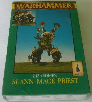 Games Workshop Warhammer Lizardmen Slann Mage Priest Miniature
