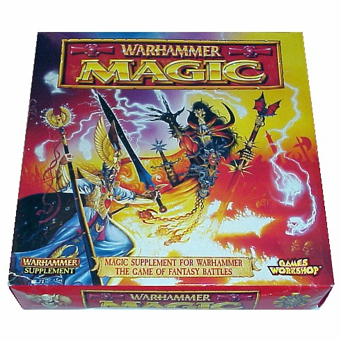 Games Workshop Warhammer Magic Supplement Box