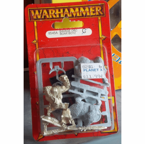 Games Workshop Warhammer Savage Orc Boar Boyz Miniature