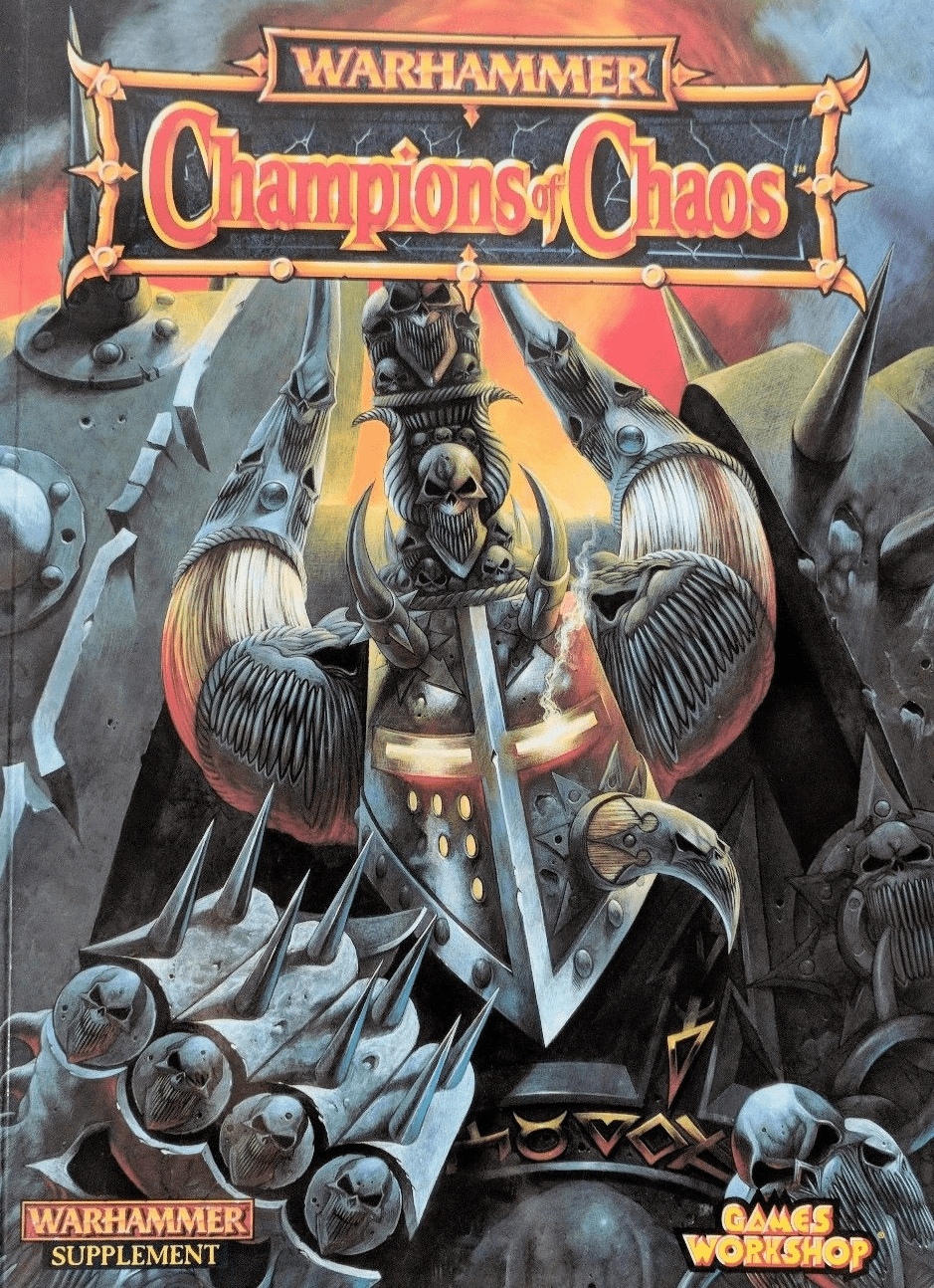 Games Workshop Warhammer Supplement Champions of Chaos Book