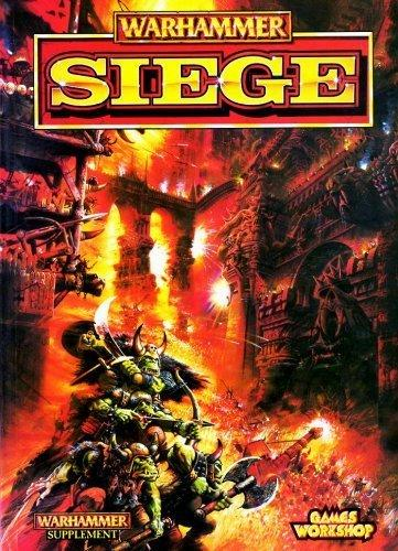 Games Workshop Warhammer Supplement Siege Book