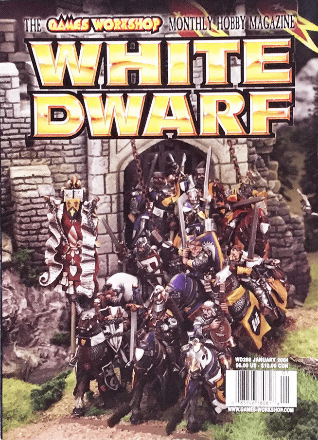 Games Workshop White Dwarf #288 2004 Magazine