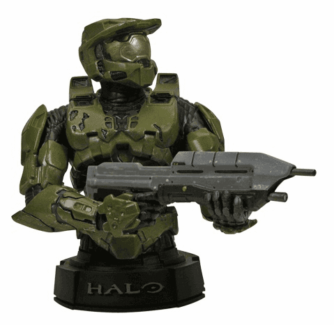 Gentle Giant Halo Master Chief Mini Bust