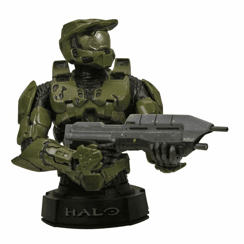 Gentle Giant Halo 3 Master Chief Mini Bust