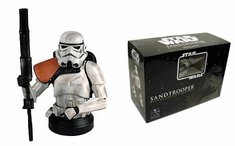 Gentle Giant Star Wars Deluxe Sandtrooper Squad Leader Bust