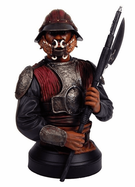 Gentle Giant Star Wars Lando Skiff Guard Mini Bust
